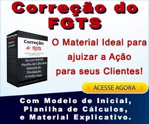 Modelo de Ação de Correção do FGTS