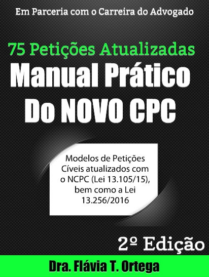 MANUAL PRÁTICO DO NOVO CPC